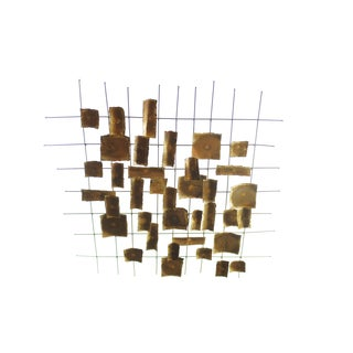 Degroot Brutalist Wall Sculpture