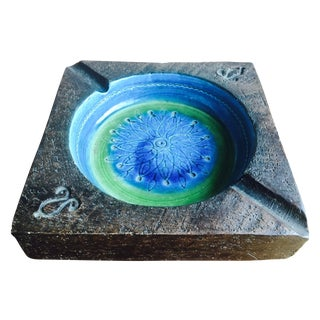Bitossi Rimini Blue Italian Ashtray