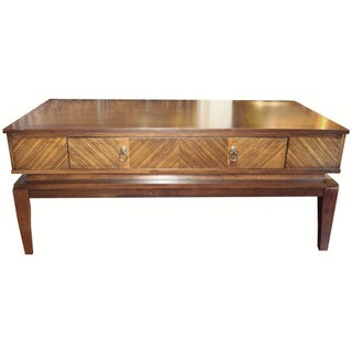 New Mid-century Style Coffee Table with Drawer
