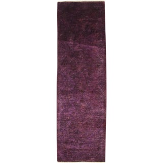 """Vibrance Hand Knotted Runner - 2'10"""" X 9'3"""""""