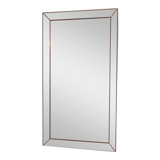Restoration Hardware Venetian Beaded Leaner Mirror