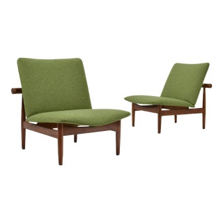 Pair of Finn Juhl Japan Chairs by France & Søn