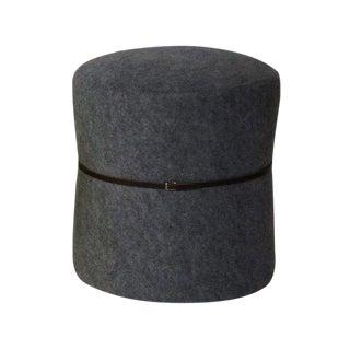 Cinch Grey Upholstered Stool