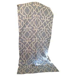 Scalamandre Ming Fretwork Fabric Window Treatments Drapes - Set of 4