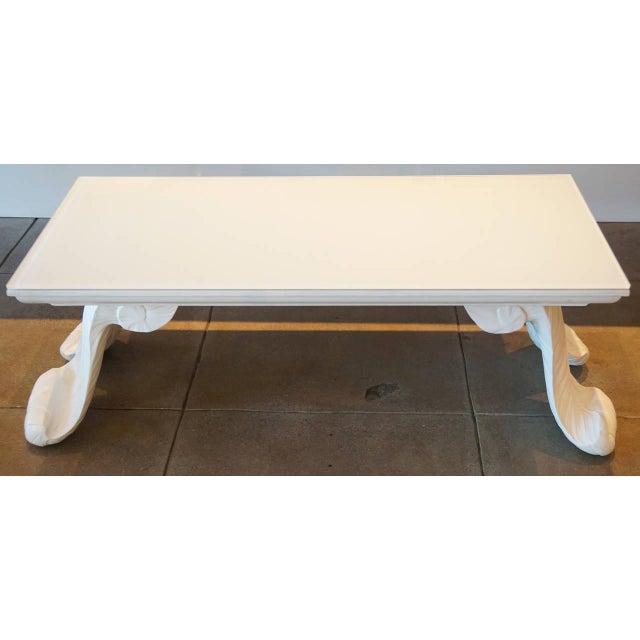 Image of Grosfeld House Scroll Leg Coffee Table