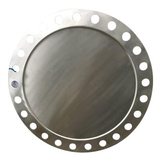 Silver Cut Out Circular Tray