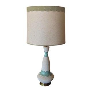 Mid Century Modern Lamp & Original Shade