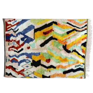 Multi-Color Moroccan Rug - 8′3″ × 11′5″