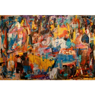 """""""EVP"""" Mixed Media Painting"""