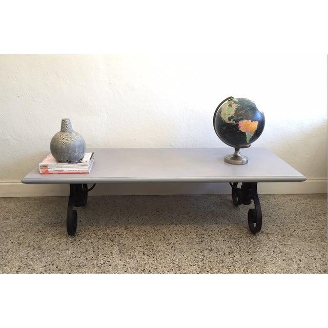 Rustic Wood Coffee Table - Image 6 of 6