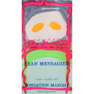 "1977 ""Fondation Maeght"" Print by Jean Messagier"