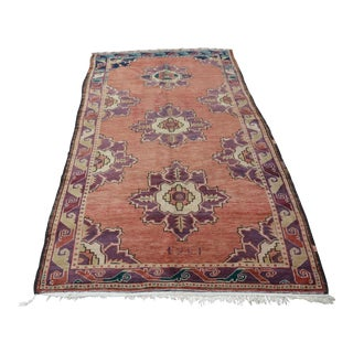 Turkish Oushak Rug- 4′3″ × 8′5″