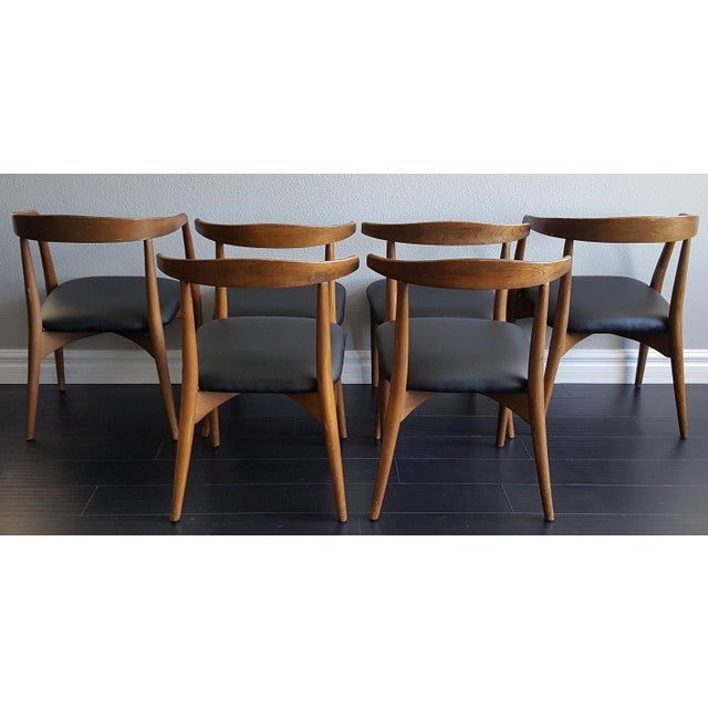 Lawrence Peabody Sculptural Dining Chairs Set Of 6