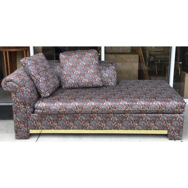 Mid-Century Chaise Lounge - Image 2 of 11
