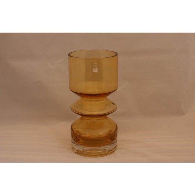 MCM Riihimaen Lasi Finland Art Glass Vase - Image 6 of 6