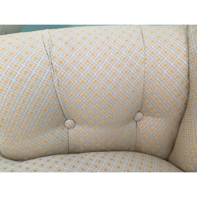 Tufted French Chairs - A Pair - Image 9 of 10