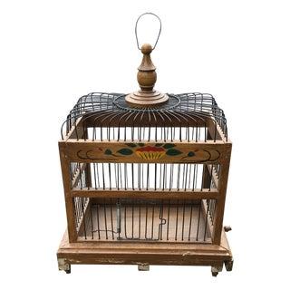 Mid-Century Bird Cage