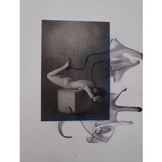 """Spain"" Printed Photo of Model Erik Sulander Marker Drawing"