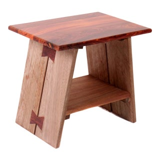 Tigerwood Low Side Table