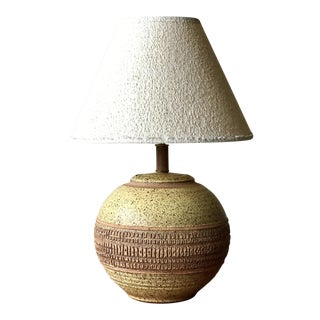 Mid Century Studio Pottery Table Lamp