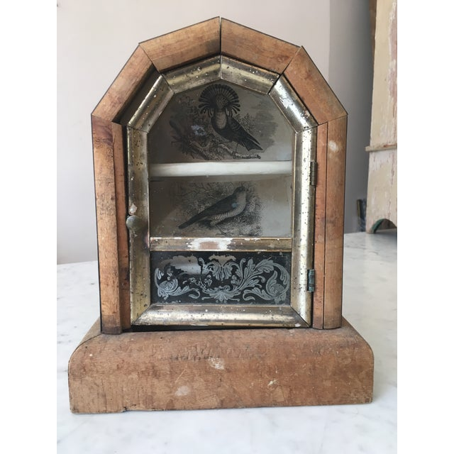 Image of Handmade Wooden Showcase Display Cabinet