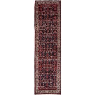 "Apadana - Vintage Persian Hamadan Rug, 3'5"" x 12'8"""