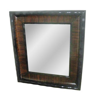 Antique English Rosewood Mirror