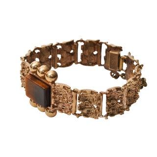Vintage Tiger Eye Bracelet