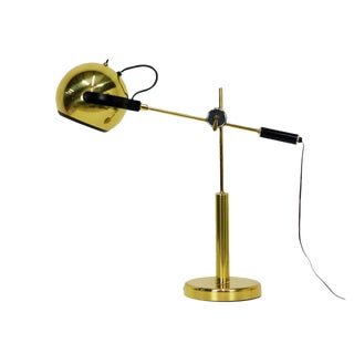 Brass Orb Ball Articulating Desk Lamp