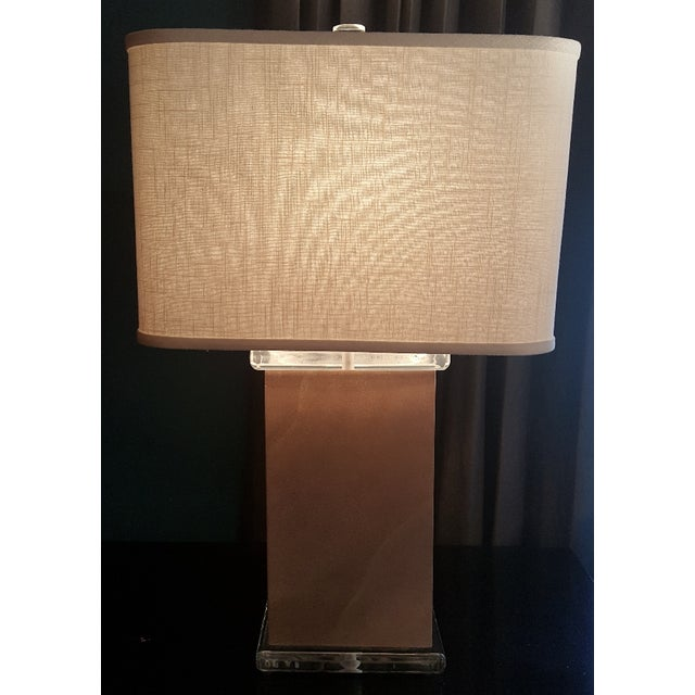 Mid-Century Vellum Table Lamps - A Pair - Image 3 of 7