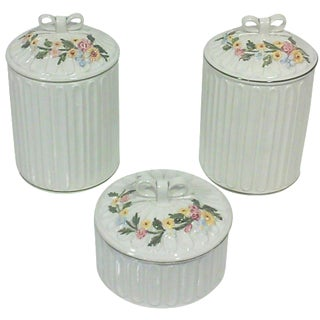 Italian Apothecary Jars - Set of 3