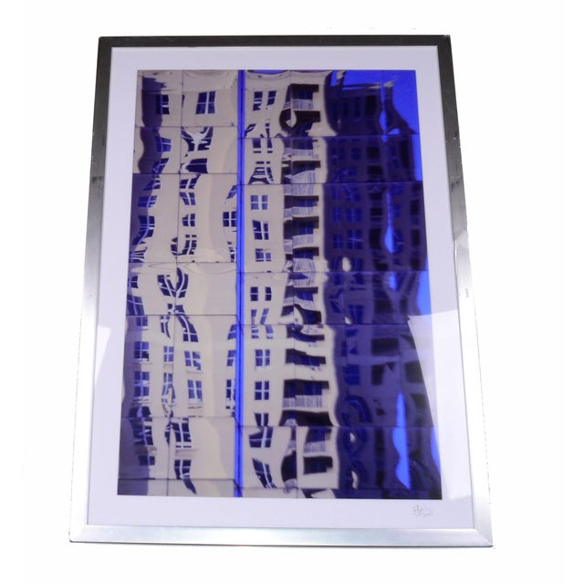 Image of South Beach Miami Mirrored Photograph