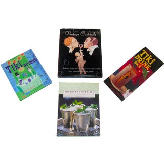 Cocktail Bar Tiki Shag Books - Set of 4