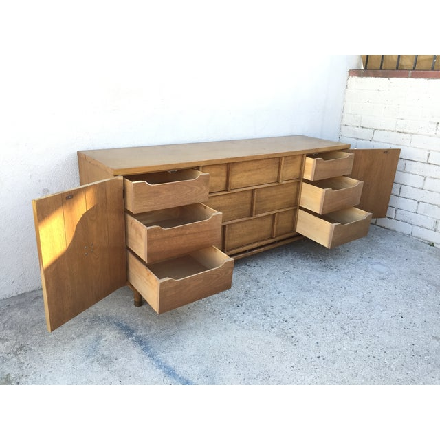 Mid-Century Solid Wood Dresser - Image 6 of 11