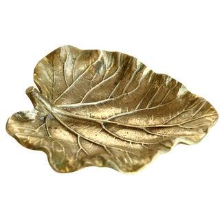 Brass Leaf Catchall