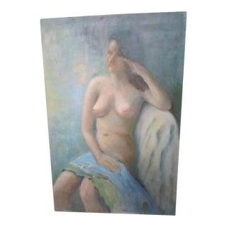 Mid-Century Nude Painting