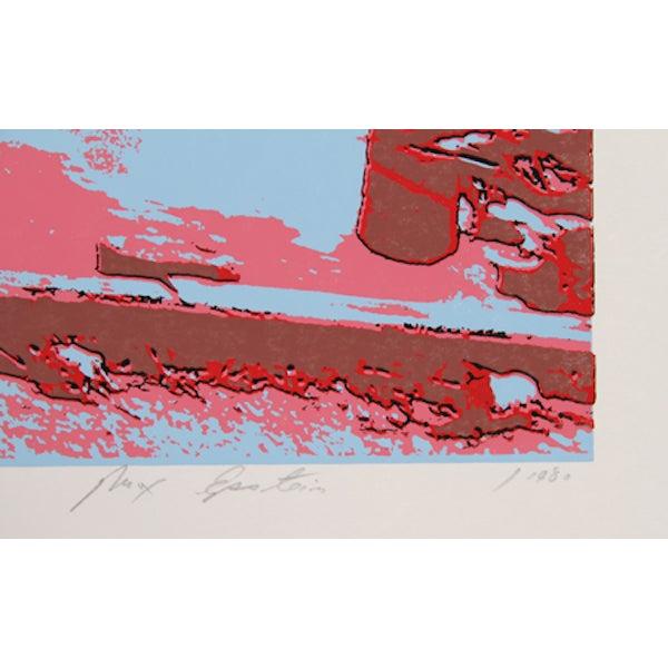 "Max Epstein, ""Freeport Fishing Boats,"" Serigraph - Image 2 of 2"