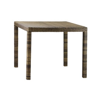 Woven Fiber Patio Table