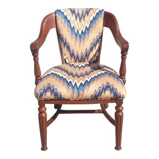 Antique Empire Style Arm Chair