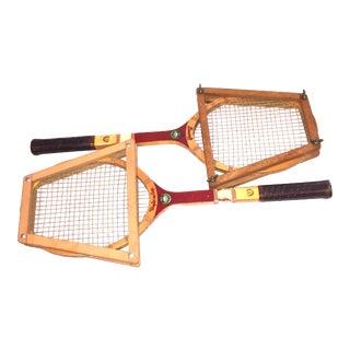 Bancroft Classic Tennis Rackets - A Pair