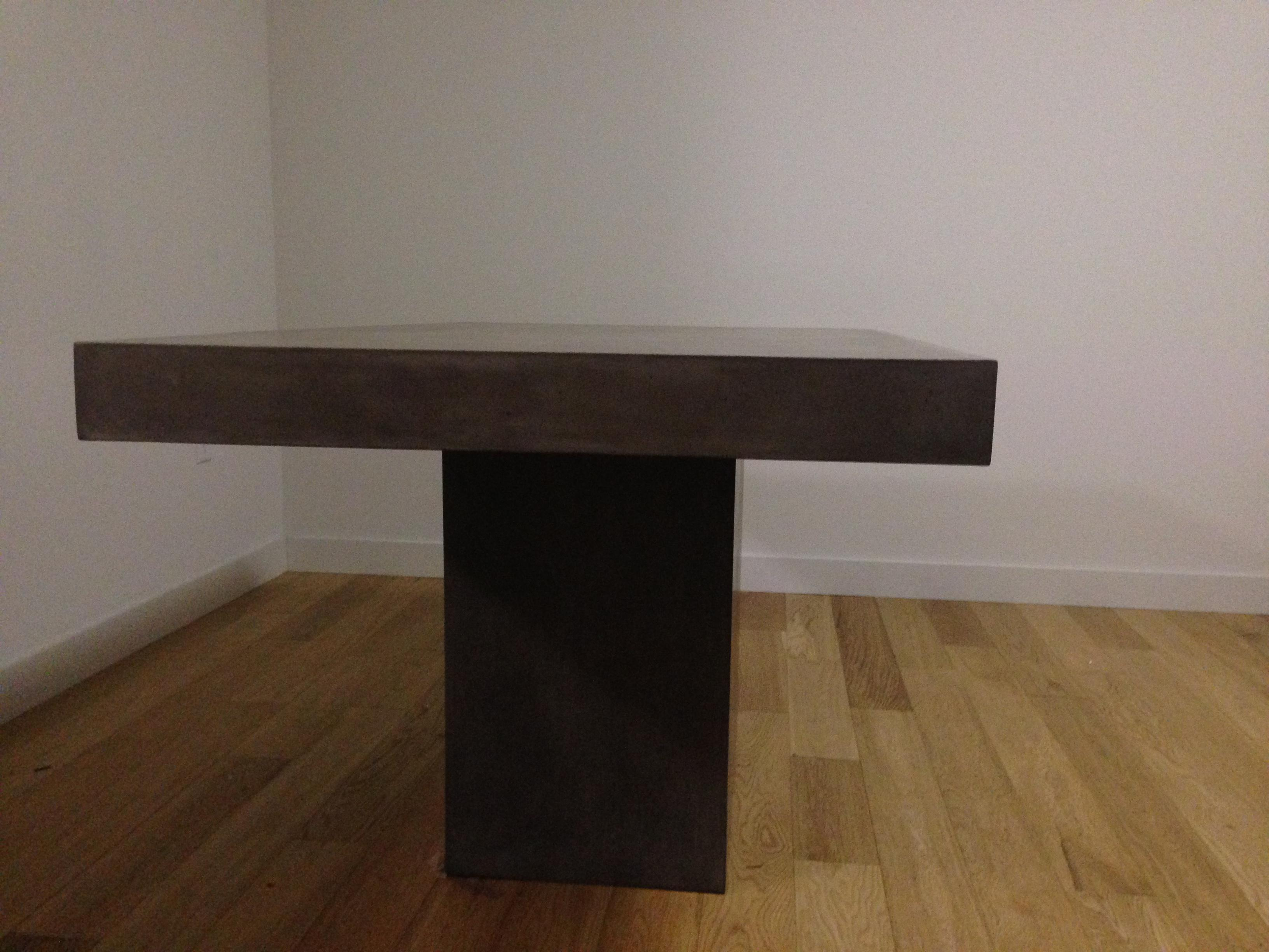 CB2 Fuze Concrete Dining Table Chairish : cb2 fuze concrete dining table 8962aspectfitampwidth640ampheight640 from www.chairish.com size 640 x 640 jpeg 26kB