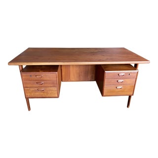 Kai Kristiansen Teak Executive Desk