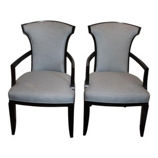 Barbara Barry Realized by Henredon Armchairs - A Pair