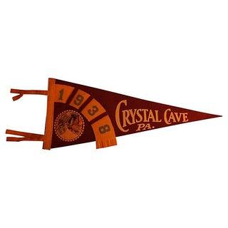 Crystal Cave Pennant 1938