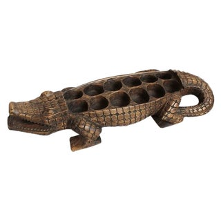 Alligator Awale Game Board