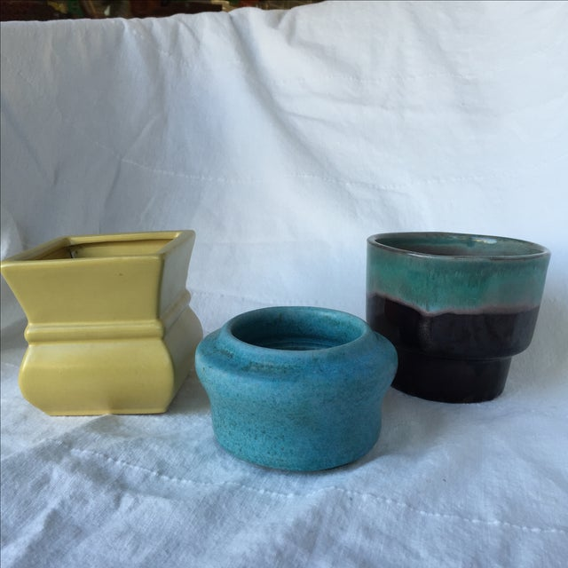Pottery Planters - Set of 3 - Image 3 of 11
