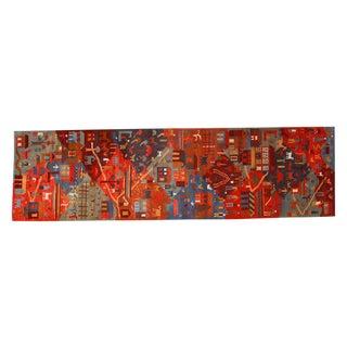"""New Tibetan Folk Art Rug Runner - 2'9"""" x 9'6"""""""