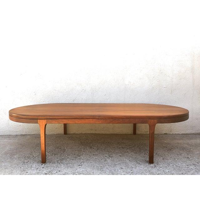 Image of Mid-Century Walnut Coffee Table