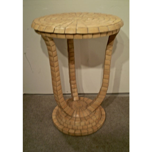 Vintage Tile Side Table - Image 2 of 5