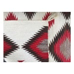 Image of Early 20th Century Woven Red Navajo Saddle Blanket
